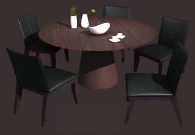 Dinner round table