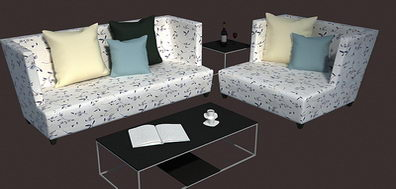 Individuality sofa in living room