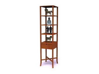 Antique-and-curio shelves