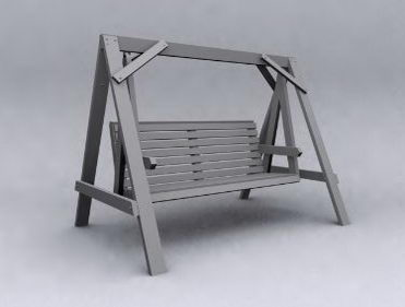 Wooden model of leisure