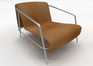 Backrest armchair
