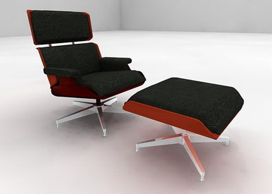 Backrest reclining chair