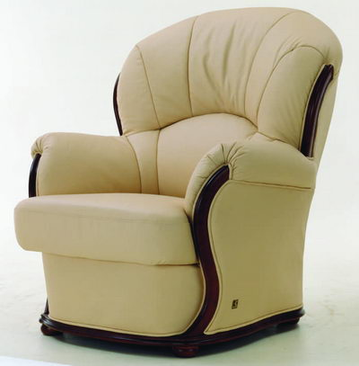 High chair back armchair