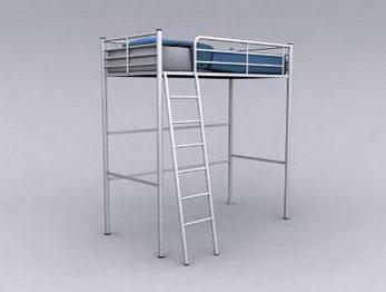 high sleeper with wardrobe & desk