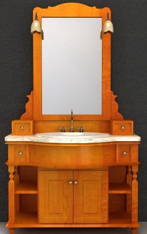 European model of hand-washing station