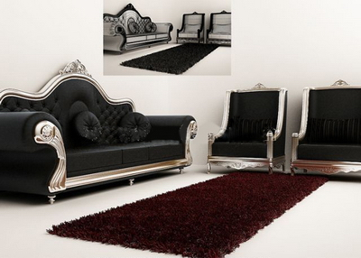 Exquisite combination model sofa