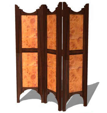 3D Model of European Screen