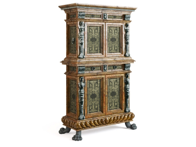 A variety of other European-style cabinet model 5
