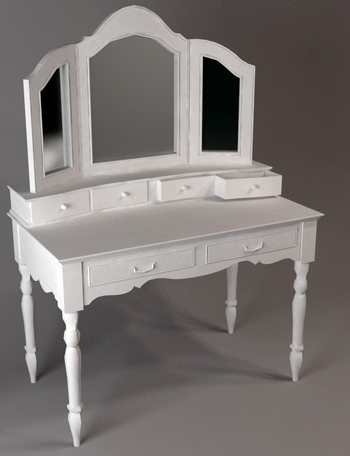 3D Model of European-style dressing table