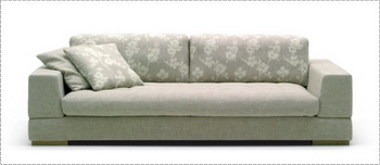 Modern Sofa 3D Model of 4-5, paragraph (OBJ format)