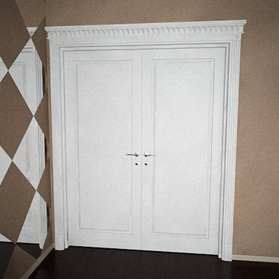 The door of the white European (including maps)