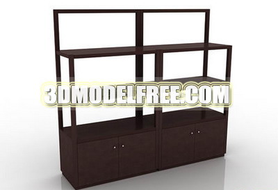 Table stool bed bed wooden bed table, dresser solid wood furniture, wooden table 3D Model