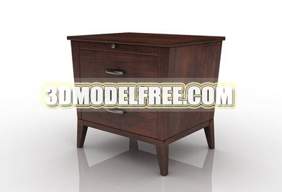 Antique furniture, solid wood cabinets retro home 3D Models