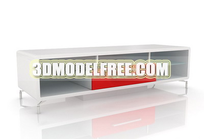 TV bench 3D models