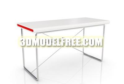 White side table 3D models