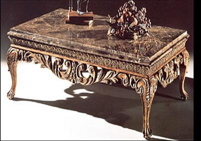 Furniture 3Ds Max Model: European Style Antique Coffee Table