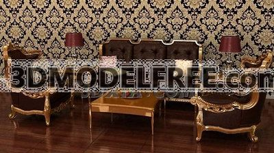 Victorian Sofa Combination