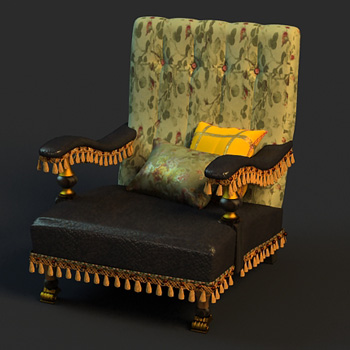 Single sofa cortex