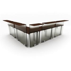 Fashion boutique desk combination6-5