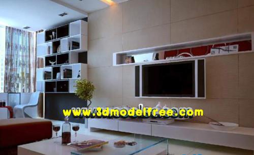 Multi closet living room wall decoration