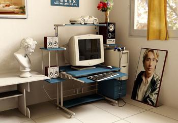 A corner of Study - Computer Desk