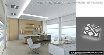 Simple office overall model