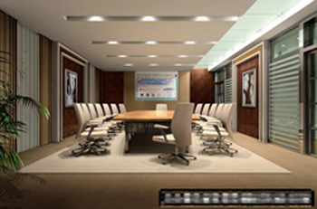 The whole meeting room model