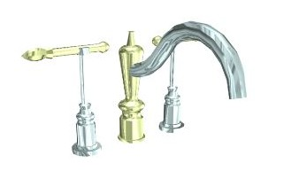 Faucets, kitchen and bathroom faucets