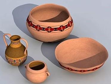 Ceramic pots, ceramic pots, ceramic jug