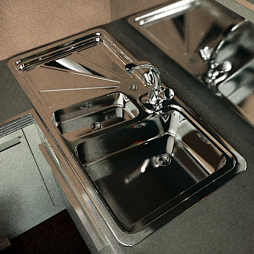 The kitchen sink 3D models
