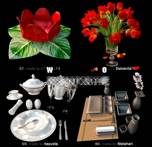 Pretty fine tableware and dining accessories model of small 12-8