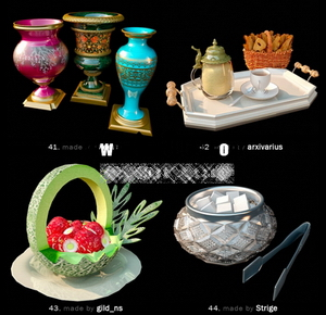 Pretty fine tableware and dining accessories model of small 10-8