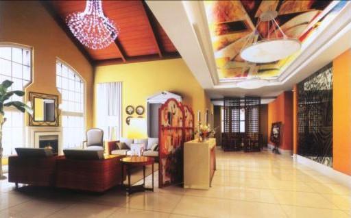 Garden-style living room