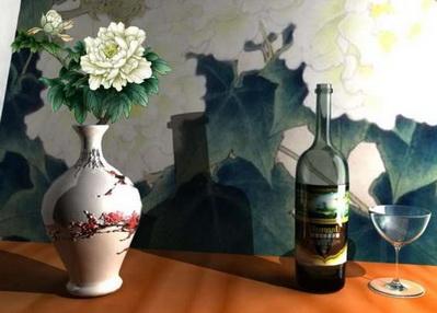 Artwork of Vase