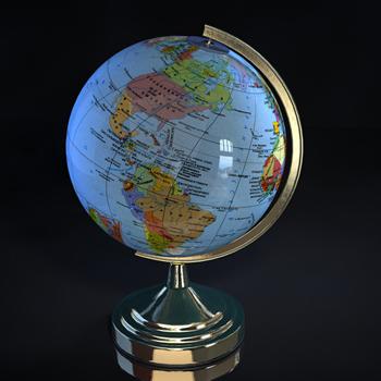 World Globe 3D models