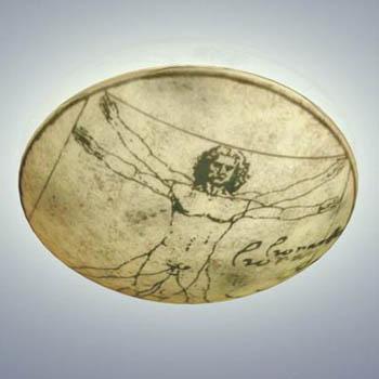Leonardo da Vinci famous painting disc