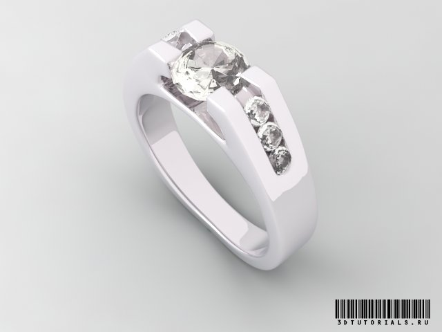 Pure white diamond wedding rings
