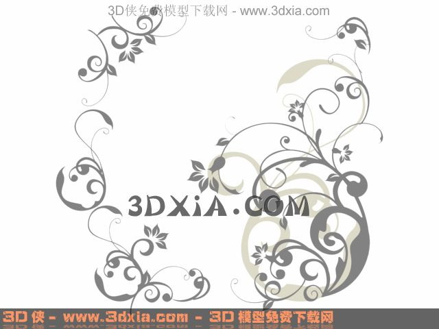Simple beautiful decorative wallpaper