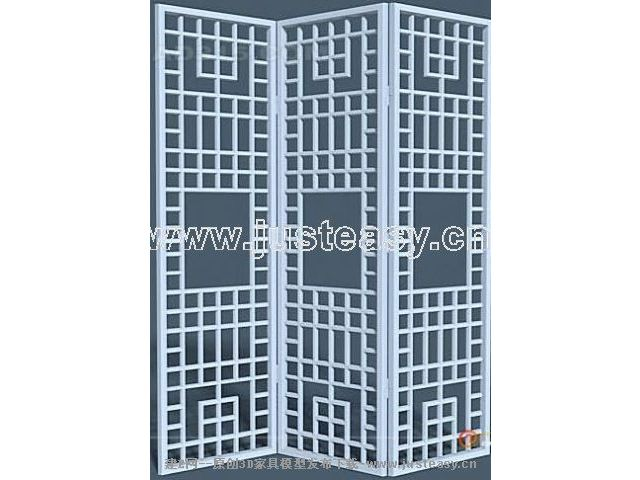 Features wooden partition wall 2