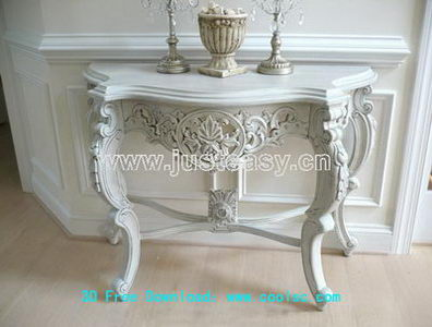 3D Model of European fireplace candelabra