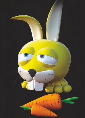 Rabbit doll Model