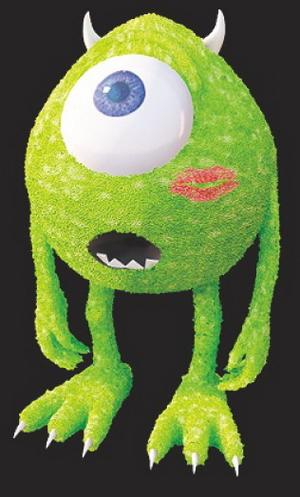A toy model of an alien eye