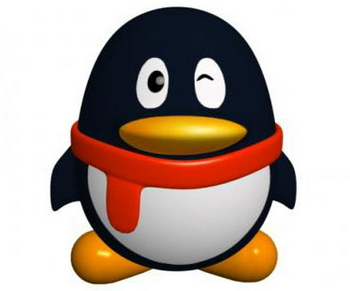 QQ picture of the 3D model of the small penguins