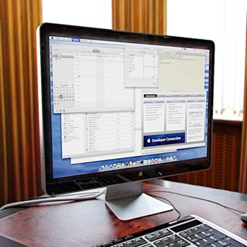 LCD computer 3D model