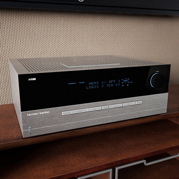 Home stereo 3D model