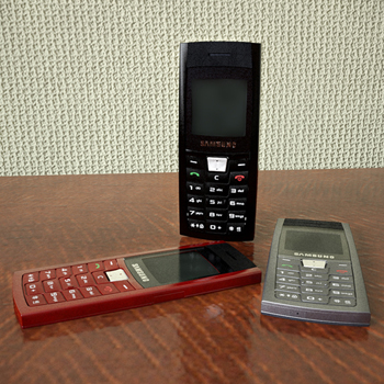 Samsung ultra-thin mobile phone 3D Model