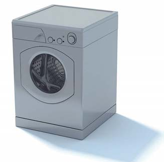 2009 New Washing Machine 3D Model 1-1