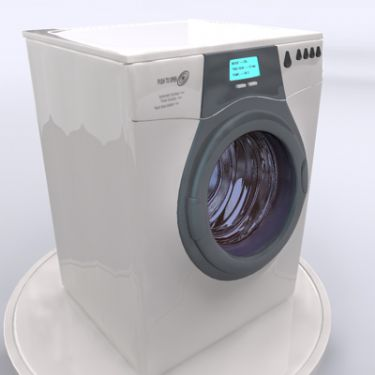 Washing Machine 3D Model Download