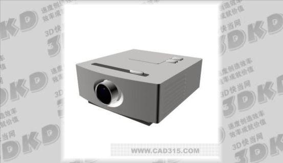3d model of projector