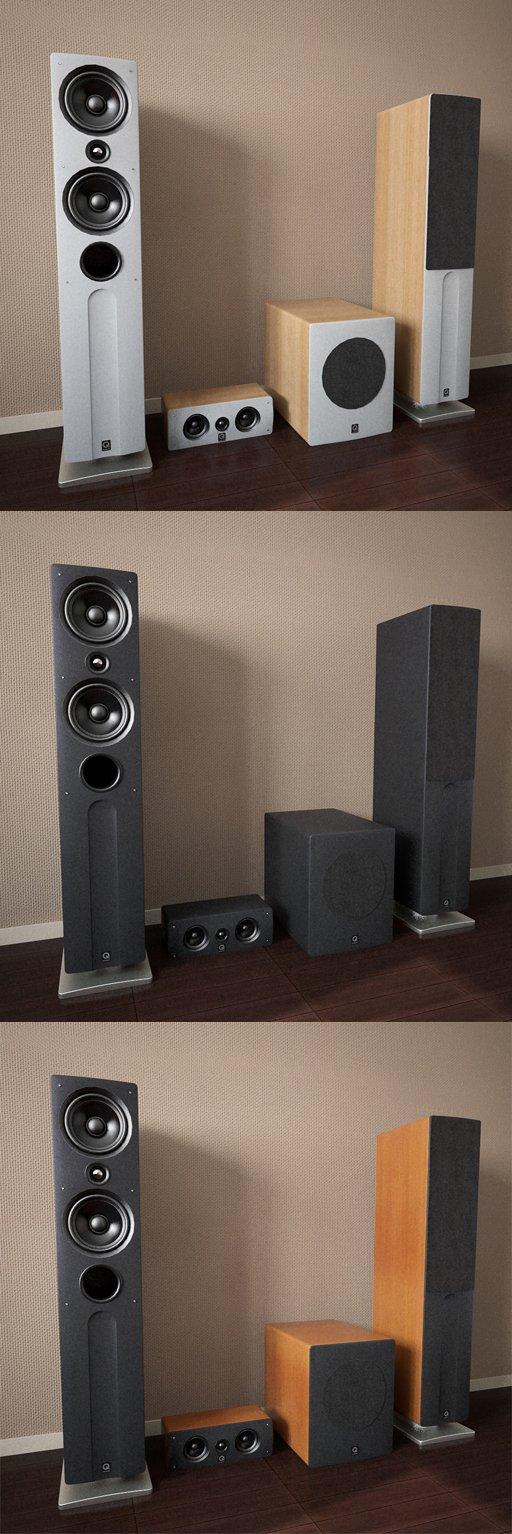 Discretion acoustics 3D models